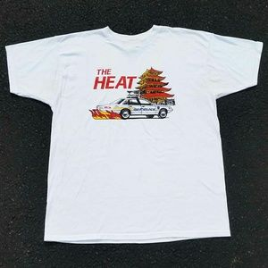 Vintage 1990's The HEAT Police T-Shirt - Size: XL
